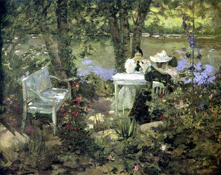 Sir John Lavery - Ein französischer Garten