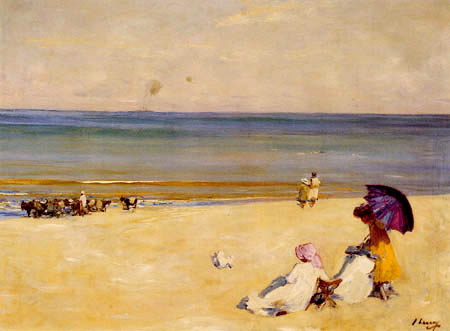 Sir John Lavery - A summer day in Tangier