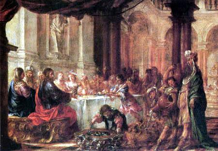 Juan de Valdés Leal - Marriage at Cana