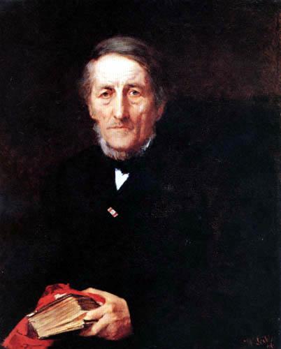 Wilhelm Leibl - Capitular Karl Leibl