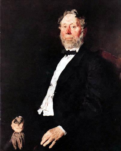 Wilhelm Leibl - Johann Heinrich Pallenberg