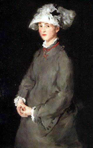 Wilhelm Leibl - Bildnis Lina Kirchdorffer