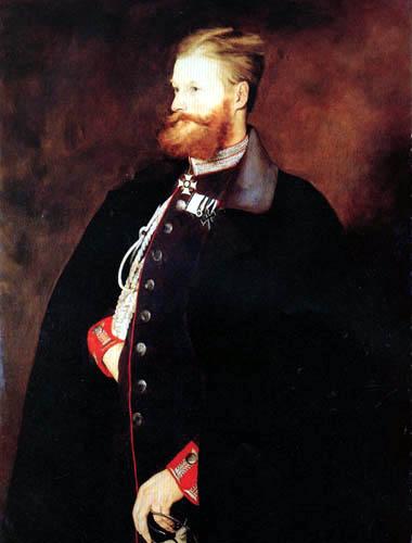 Wilhelm Leibl - Baron Stauffenberg