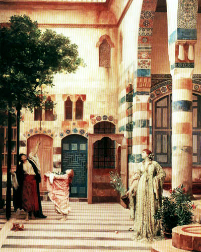 Frederic Leighton - Jüdisches Viertel in Damaskus
