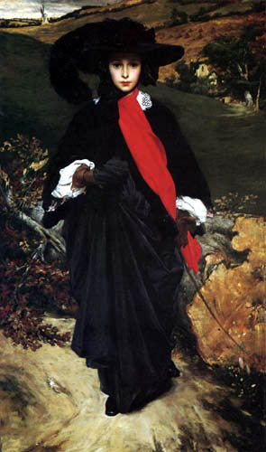 Frederic Leighton - May Sartoris