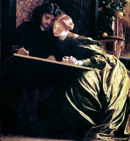 Frederic Leighton - The luck of the artist
