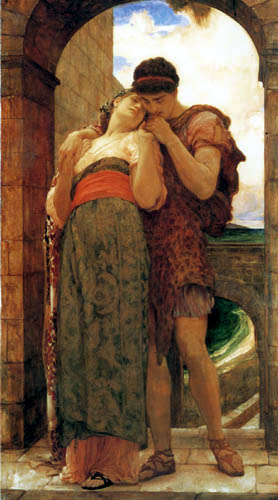 Frederic Leighton - Das junge Glück