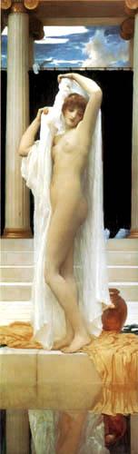 Frederic Leighton - Psyche nach dem Bade
