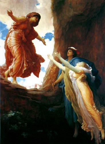Frederic Leighton - Rückkehr der Persephone