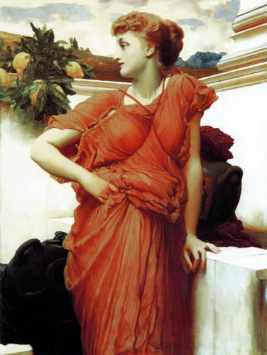 Frederic Leighton - The beautiful Greek at the well