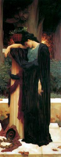 Frederic Leighton - Lachrymae