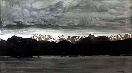 Walter Leistikow - Mountain Landscape