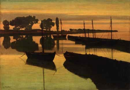 Walter Leistikow - On the river Havel