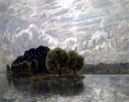 Walter Leistikow - Island of Love