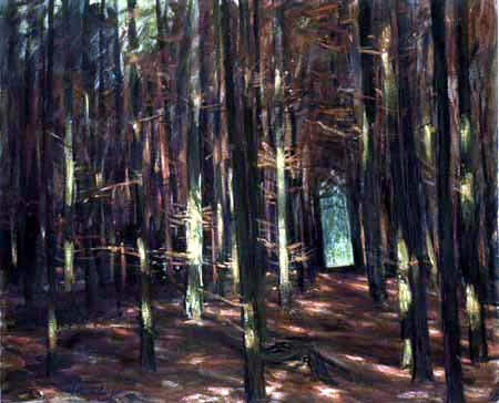 Walter Leistikow - Forest Thicket