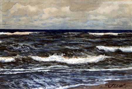 Walter Leistikow - Coast in Denmark