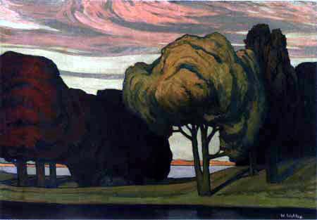 Walter Leistikow - Trees