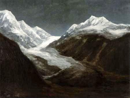Walter Leistikow - High mountains