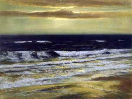 Walter Leistikow - An evening at the North Sea