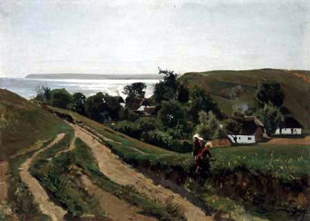 Walter Leistikow - Bei Vitt auf der Insel Rügen