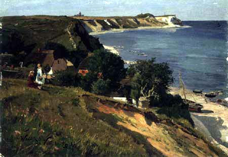 Walter Leistikow - In Vitt, Rügen with view of Cape Arkona