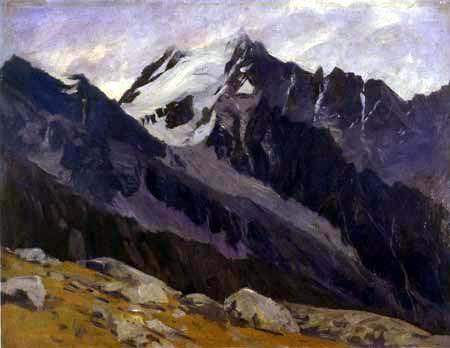Walter Leistikow - Fjord Landscape