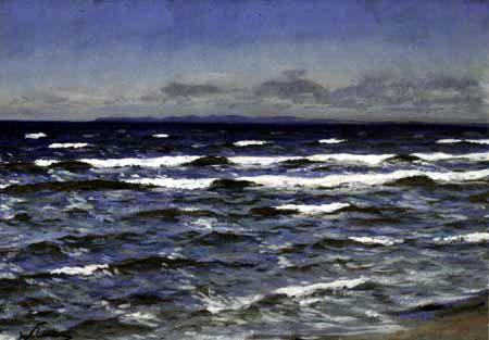 Walter Leistikow - Meereswellen