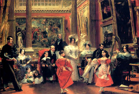 Charles Robert Leslie - The Grosvenor Family