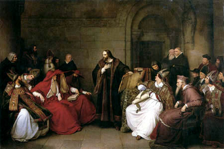 Karl Friedrich Lessing - Johann Hus auf dem Konstanzer Konzil