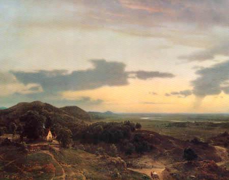Karl Friedrich Lessing - Landscape