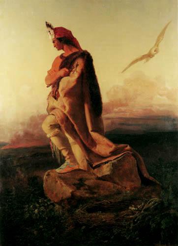 Emanuel Gottlieb Leutze - The last Mohican