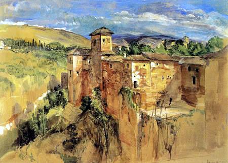 John Frederick Lewis - The Alhambra