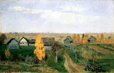 Isaak Iljitsch Lewitan - Goldener Herbst