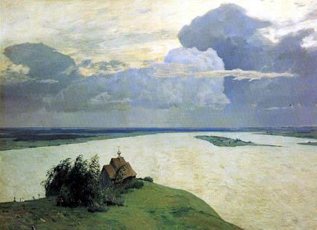 Isaak Iljitsch Lewitan - Sur le repos éternel