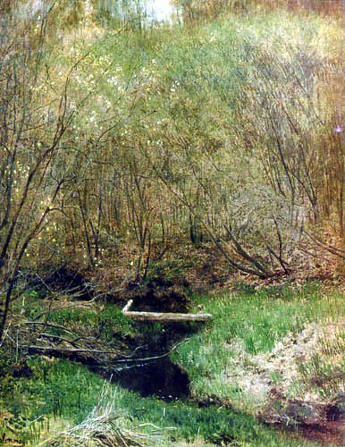 Isaak Iljitsch Lewitan - Spring in the forest