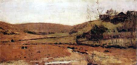 Isaak Iljitsch Lewitan - River valley