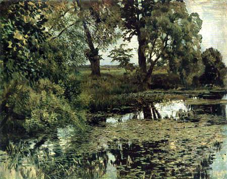 Isaak Iljitsch Lewitan - Pond