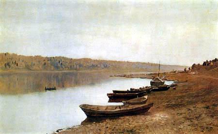 Isaak Iljitsch Lewitan - À la Volga