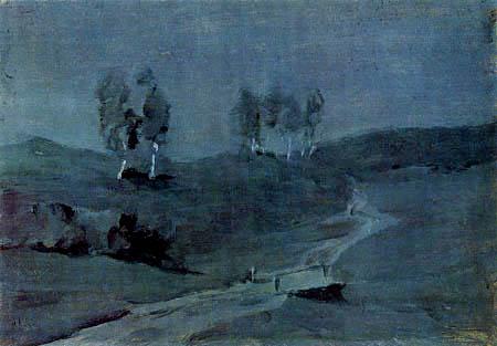 Isaak Iljitsch Lewitan - Shade, moon night