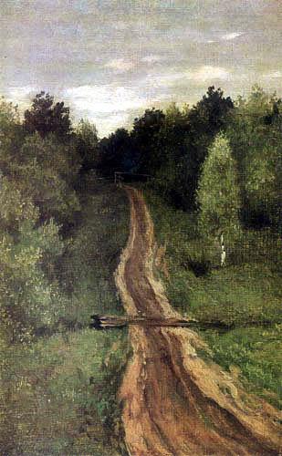 Isaak Iljitsch Lewitan - Forest way