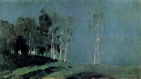 Isaak Iljitsch Lewitan - Mondnacht