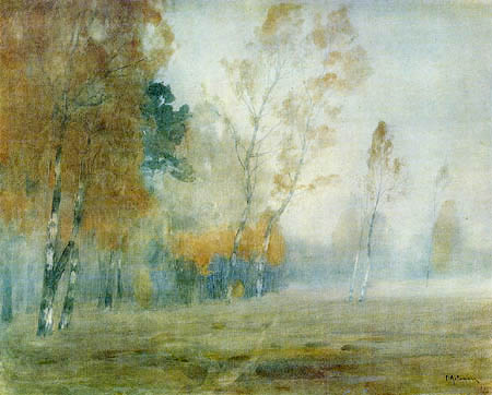 Isaak Iljitsch Lewitan - Fog in the autumn