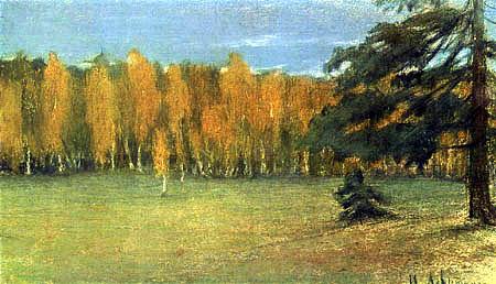 Isaak Iljitsch Lewitan - Autumn landscape