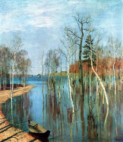 Isaak Iljitsch Lewitan - Spring, Flood Water