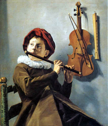 Judith Leyster - The young flute player
