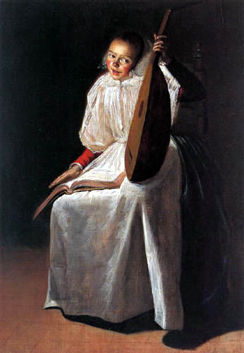 Judith Leyster - Girl with Lute