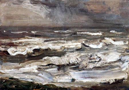 Max Liebermann - Study of the sea