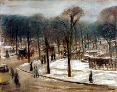 Max Liebermann - Blick auf den Tiergarten