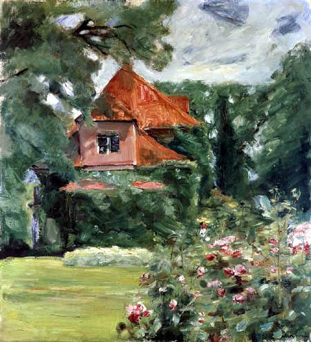 Max Liebermann - A old house of Hamburg