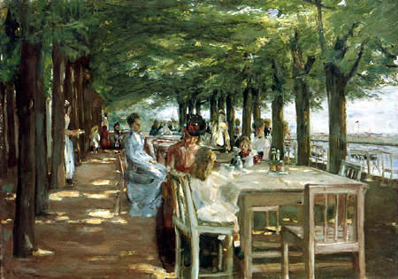 Max Liebermann - Restaurant Jakob in Nienstedten an der Elbe